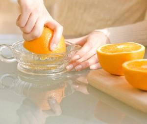 Exprimir naranjas